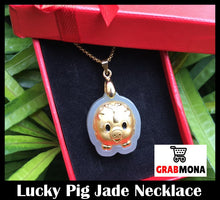 Lucky Pig Jade Necklace