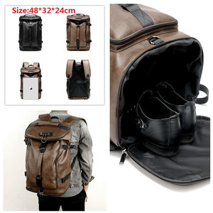 Modern Leather Backpack