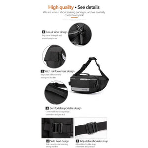 WATERPROOF NYLON BELT BAG(BUY 1 GET 1)