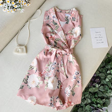 Nicole Floral Rompers Dress