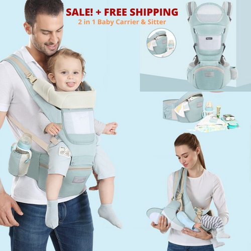 2 in 1 Baby Toddler Sitter & Carrier