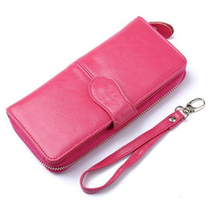 Leather Purse Wallet (+1 FREE MONEY MAGNET PIYAO)