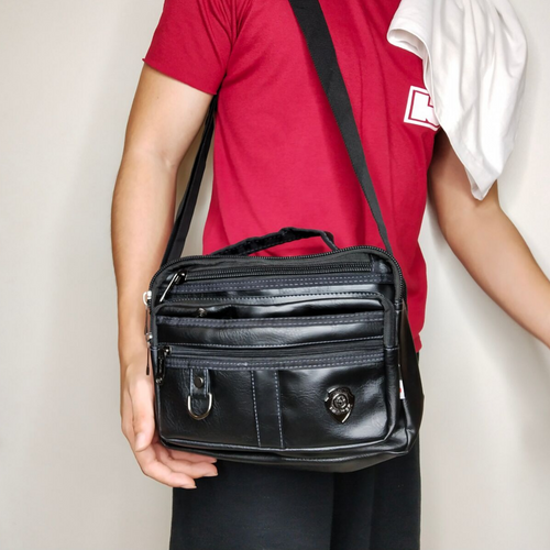Leather Sling Bag BUy 1 Take 1