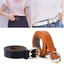 Plain Vintage Round Buckle Belt (BUY 1 Take 2)