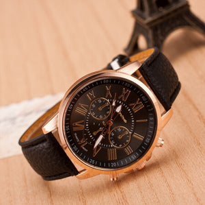 Leather Unisex Watches