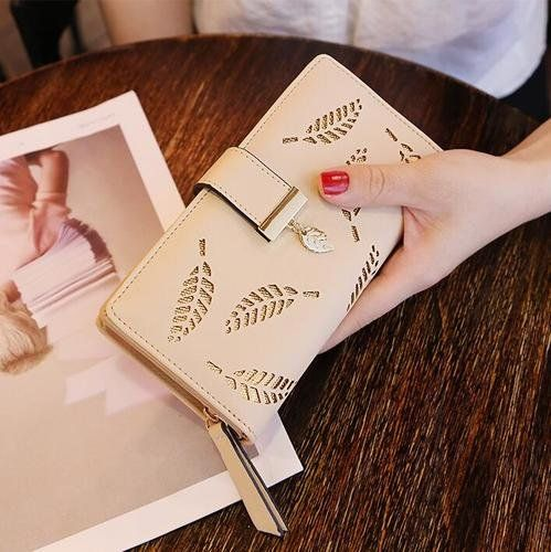 Leaf Purse Wallet