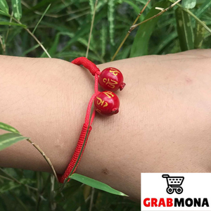 Lucky Red Mantra String