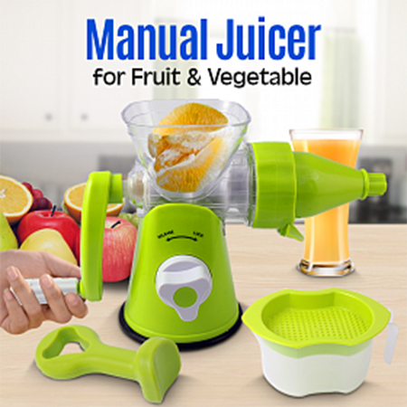 Manual Juicer (Buy1 Take 1)
