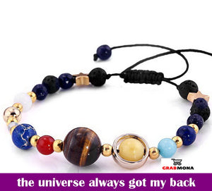 Solar System Charm Bracelet Adjustable (Limited Edition)