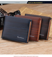 MEN PU LEATHER WALLET