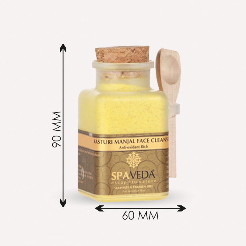 spaveda face cleanser product dimensions