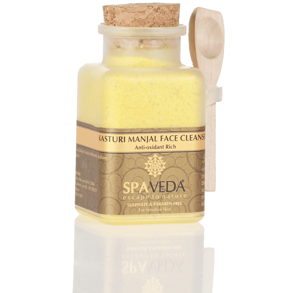 Spaveda Face cleanser, gentle face wash, face scrub, skin lightening & brightening