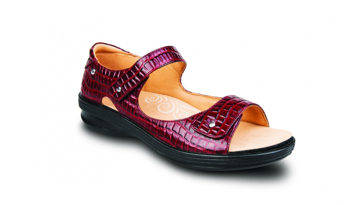 Revere Madrid Adjustable Sandal Womens Wide 11W