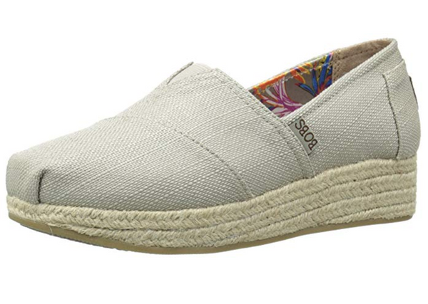 BOBS from Skechers Women's Highlights Canvas Wedge