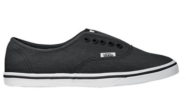 Vans Authentic Lo Pro Gore (Microstripe) Black