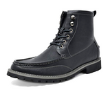 Bruno Marc Men's Stone Motorcycle Combat Boots
