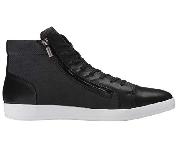 Calvin Klein Men's Berke Embossed Leather Fashion Sneaker