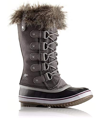 Sorel Joan of Arctic Shearling 6 / Quarry/Black Sorel  kick-it-shoe-outlet.myshopify.com Kick-it Shoe Outlet Shoes Cheap