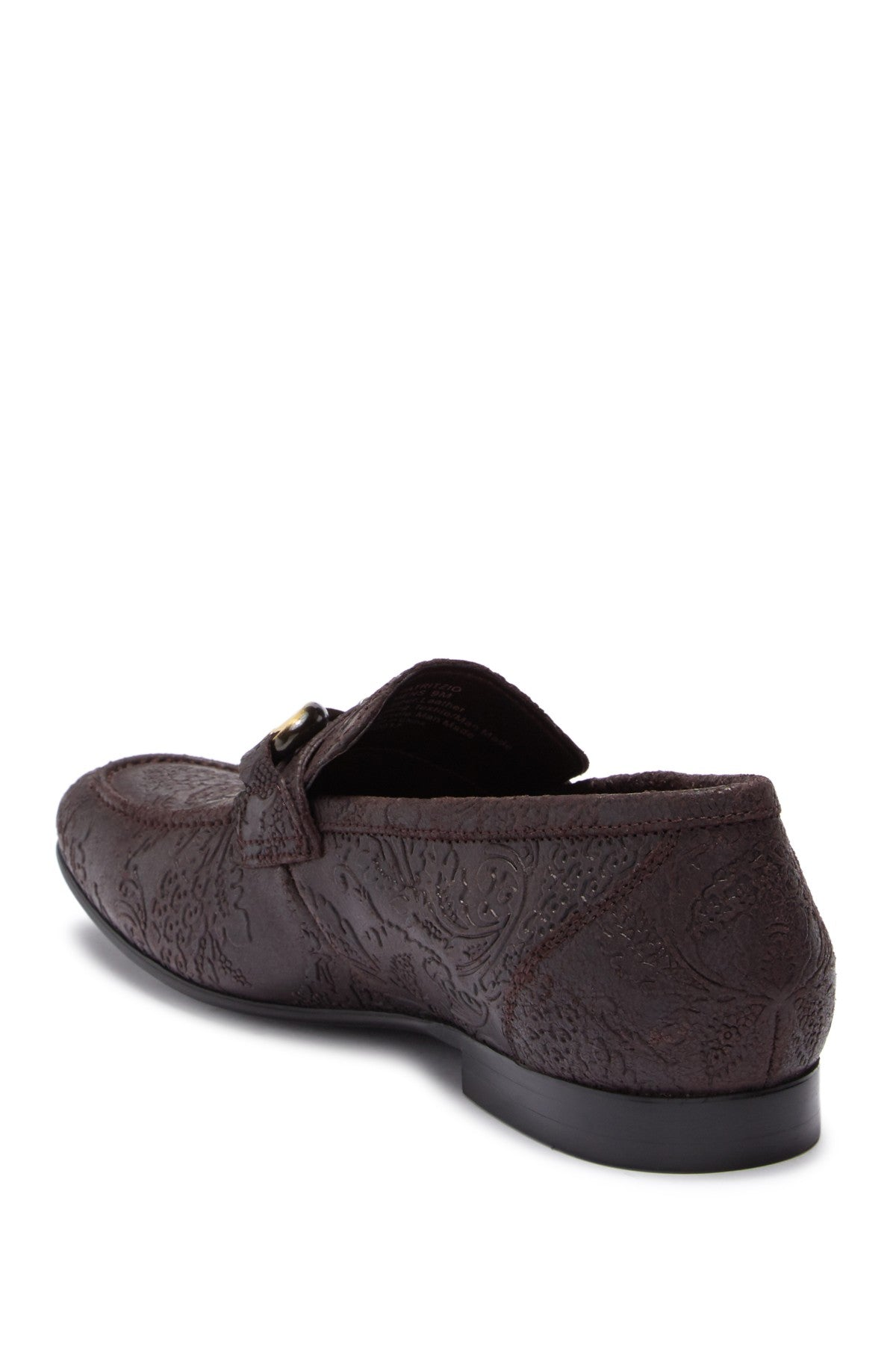 Tallia Patrizio Embossed Bit Loafer