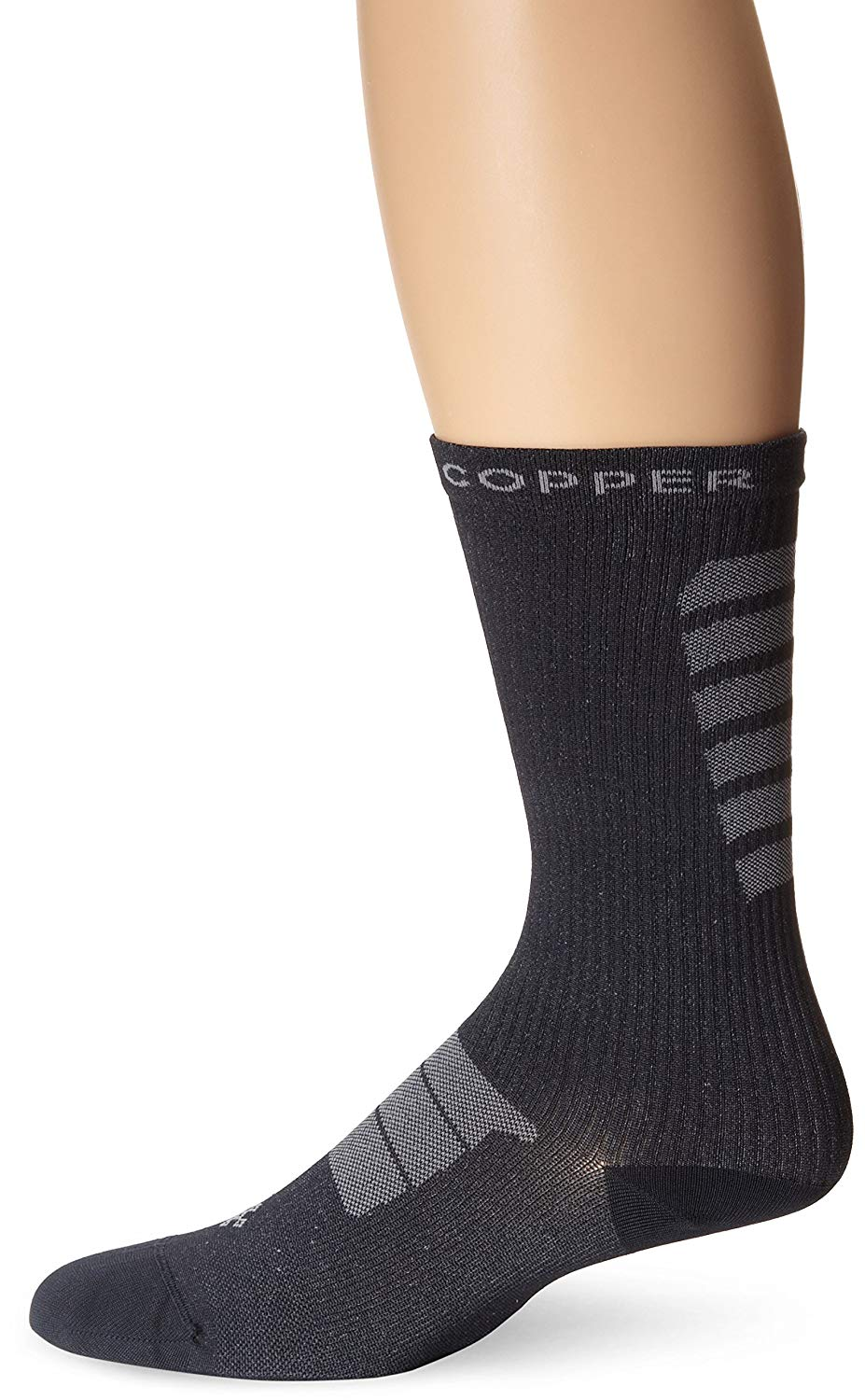 Tommie Copper Men's Recovery Kick Start Crew Dress Sock Size 6 to 8.5 (2 PACK)