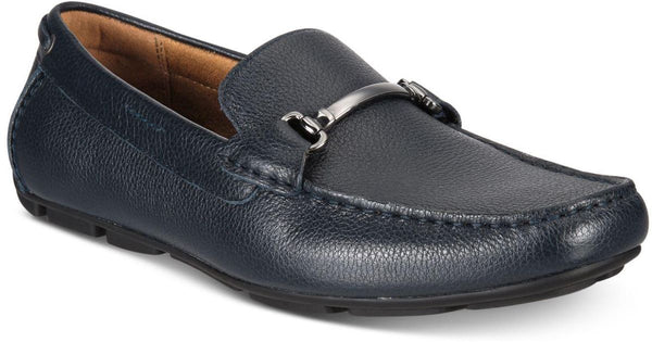 Alfani Mens Marcus Leather Square Toe Penny Loafer