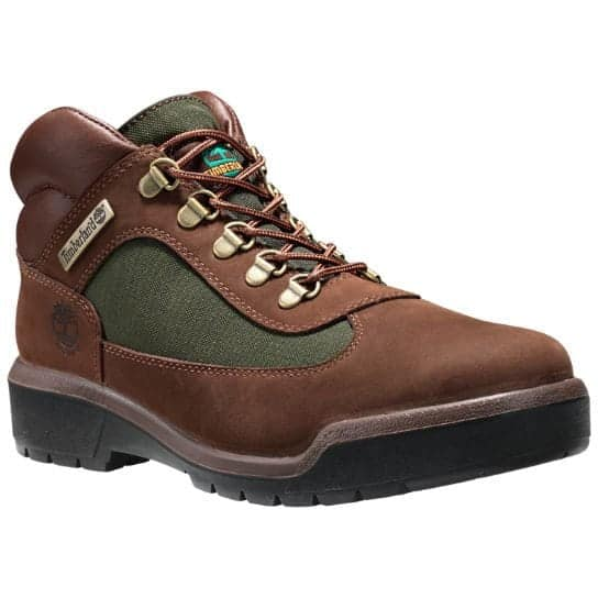TIMBERLAND WATERPROOF FIELD BOOT | DARK BROWN