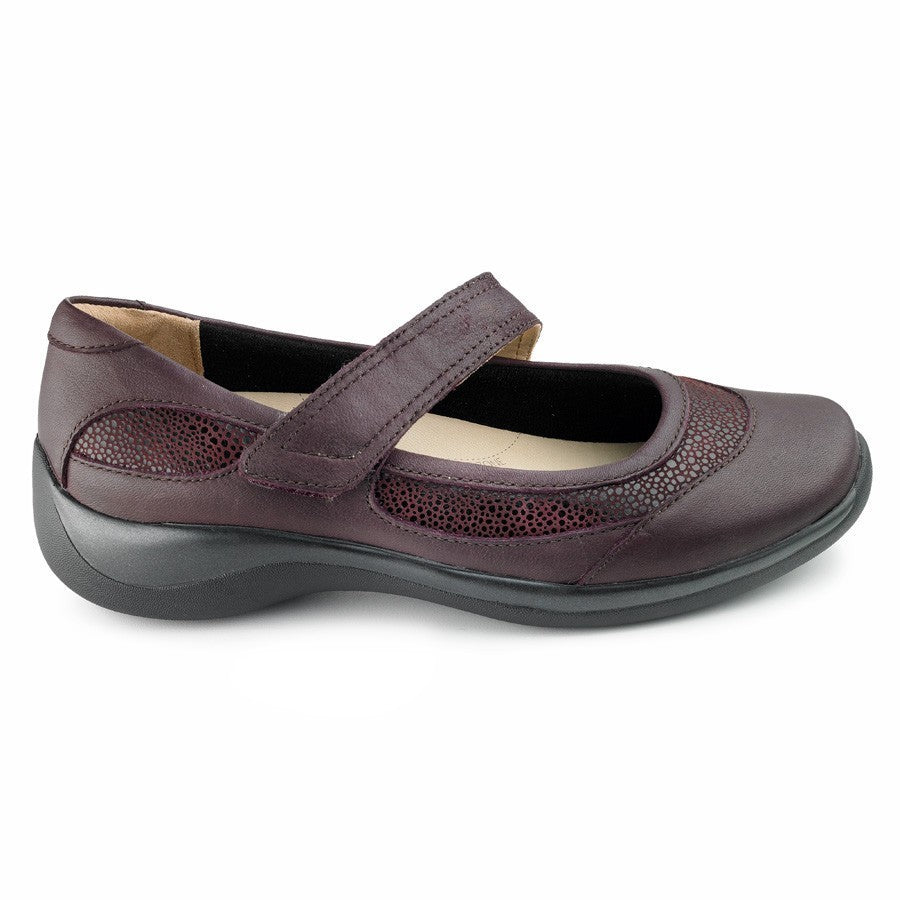 ZIERA - JET MERLOT/STINGRAY MARY JANE Shoes