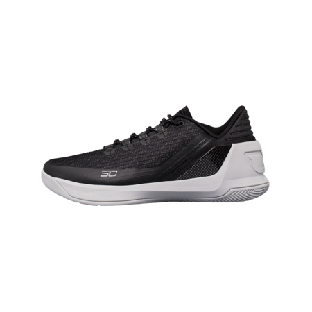 Under Armour Curry 3 Low Basketball Shoe 1286376-002 (10, Blk/alu/blk)