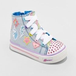 S Sport by Skechers Toddler Girls' Glimmer Stars Sneakers