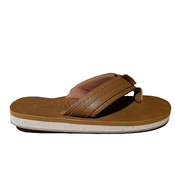 Dockers® Ethan Flip Flop Tan/beige Men's Shoes Sandals  Dockers  kick-it-shoe-outlet.myshopify.com Kick-it Shoe Outlet Shoes Cheap