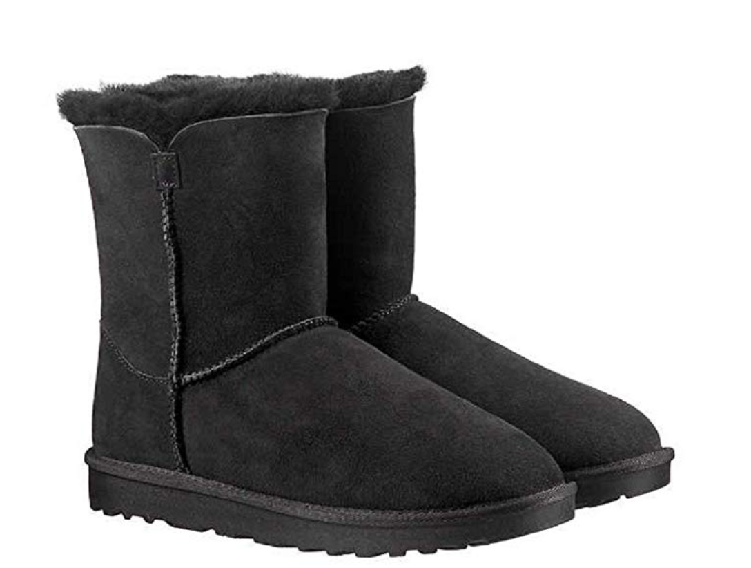 Kirkland Signature Womens Shearling Zipper Boots  Kick-it Shoe Outlet  kick-it-shoe-outlet.myshopify.com Kick-it Shoe Outlet Shoes Cheap