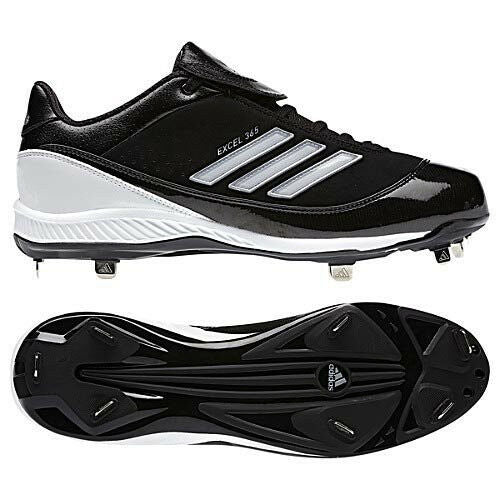 Mens adidas Excel 365 Low Metal Baseball Cleats