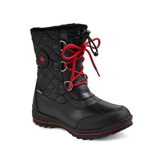 Storm by Cougar Women's Baltic Waterproof Quilted Boots 6 / Black Storm By Cougar  kick-it-shoe-outlet.myshopify.com Kick-it Shoe Outlet Shoes Cheap