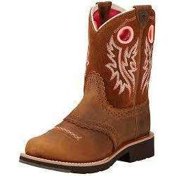 "Ariat Girl's Fatbaby Cowgirl Boot 7"" Height  Ariat  kick-it-shoe-outlet.myshopify.com Kick-it Shoe Outlet Shoes Cheap"