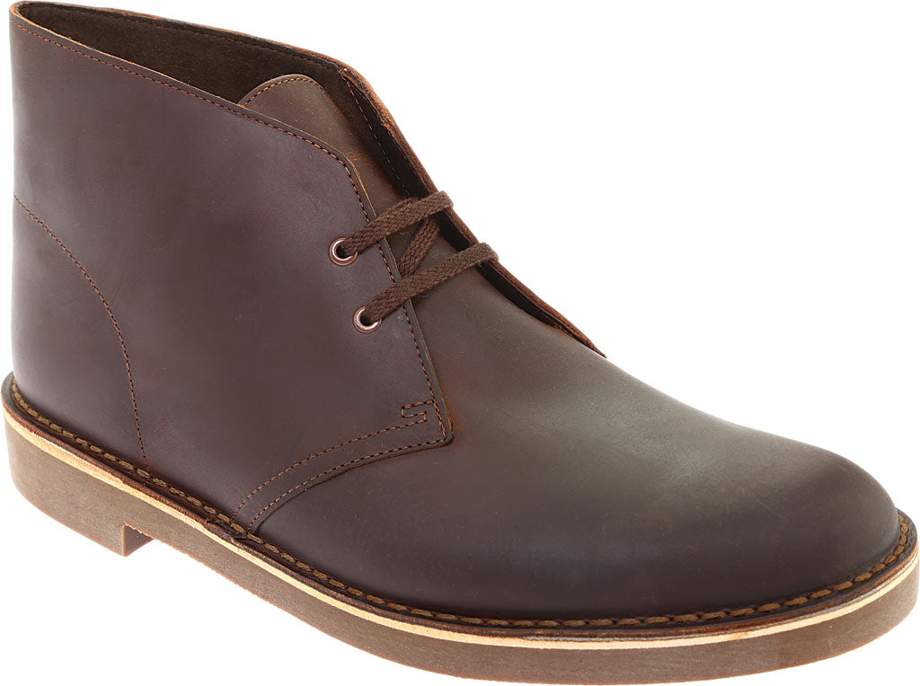 Clarks Bushacre 2 Chukka Boot (11, Dark Brown)
