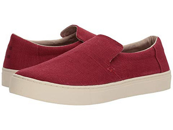 TOMS Mens Lomas Heritage Canvas Slip on