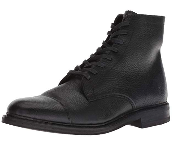 FRYE Men's Seth Cap Toe Lace Up Fashion Boot