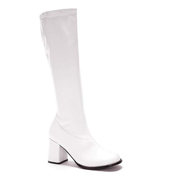 Ellie Shoes Girls White Go Go Boots