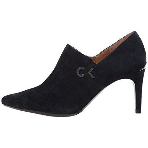 Calvin Klein Women's Joanie Suede Ankle Boot  Calvin Klein  kick-it-shoe-outlet.myshopify.com Kick-it Shoe Outlet Shoes Cheap
