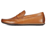 Alfani Mens Will Leather Closed Toe Penny Loafer
