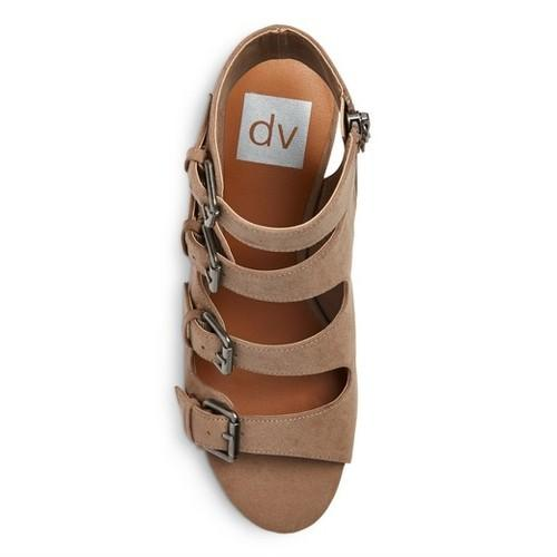 dv Leeann Buckle Wedge Gladiator Sandals  dv Leann  kick-it-shoe-outlet.myshopify.com Kick-it Shoe Outlet Shoes Cheap