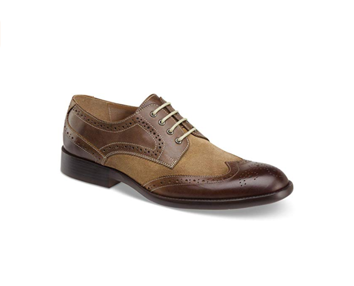 Johnston & Murphy Mens Fletcher Leather Lace Up Dress Oxfords