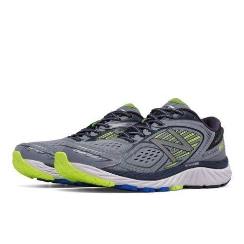 New Balance M860v7 Ankle-High Running Shoe 15 / Green with yellow New balance  kick-it-shoe-outlet.myshopify.com Kick-it Shoe Outlet Shoes Cheap