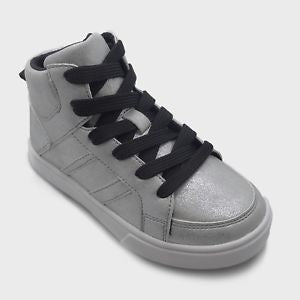 Art Class Boys' Watson Mid Top Metallic Sneakers  Kick-it Shoe Outlet  kick-it-shoe-outlet.myshopify.com Kick-it Shoe Outlet Shoes Cheap