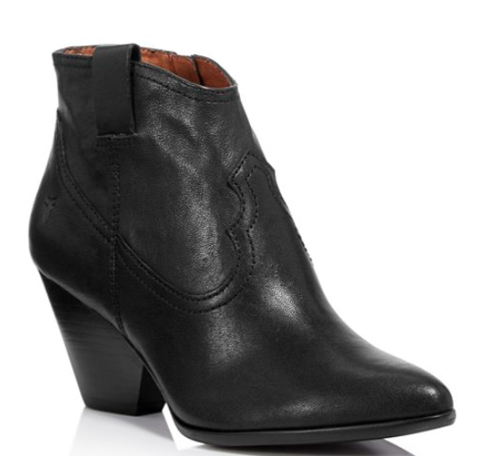 Frye Women's Reina Leather Booties  Kick-it Shoe Outlet  kick-it-shoe-outlet.myshopify.com Kick-it Shoe Outlet Shoes Cheap