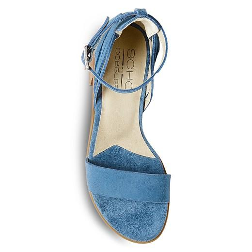 Soho Cobbler Serene Suede Quarter Strap Sandals  Soho  kick-it-shoe-outlet.myshopify.com Kick-it Shoe Outlet Shoes Cheap