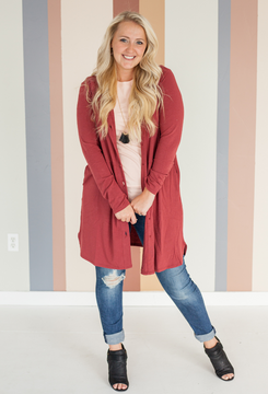 Alexia Buttoned Cardigan S-3X