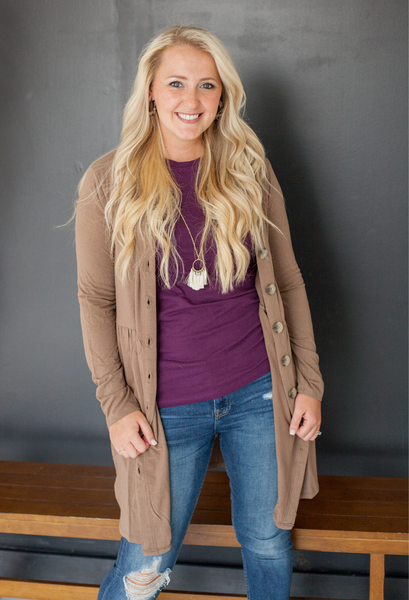Alexia Buttoned Cardigan