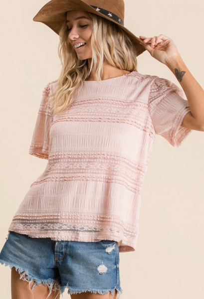Lace & Love Top