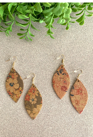 Vintage Flower Earrings